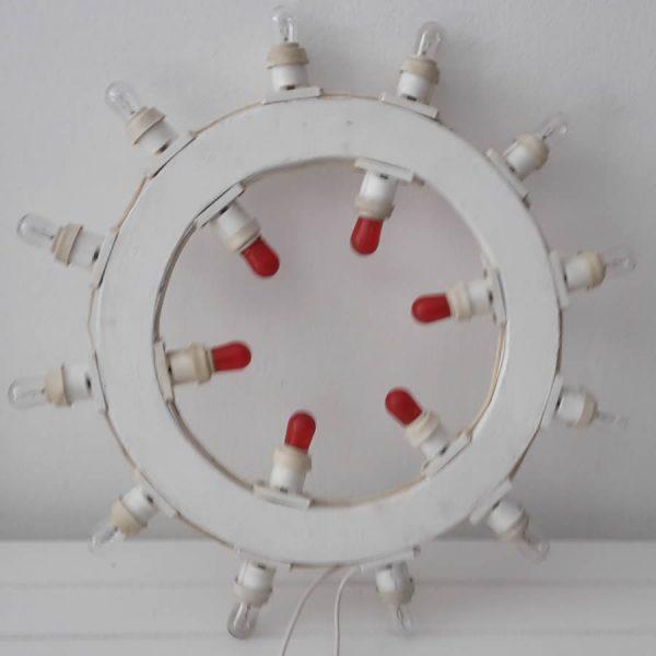 Luminarie d arredo salentine, il cerchio