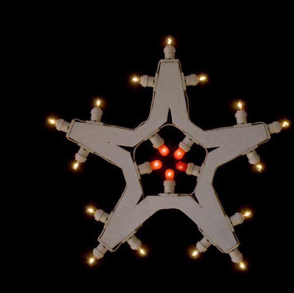 la stella a cinque punte, luminaria salentina scoperta dagli interior designer