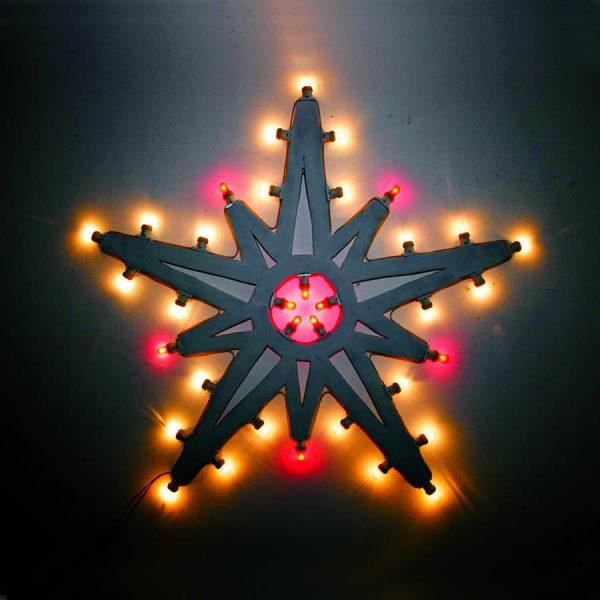 Luminarie salentine le nuove illuminazioni da interni, la stella