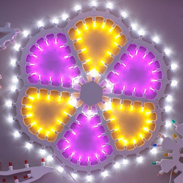 Rosone medio – luci esterne 1